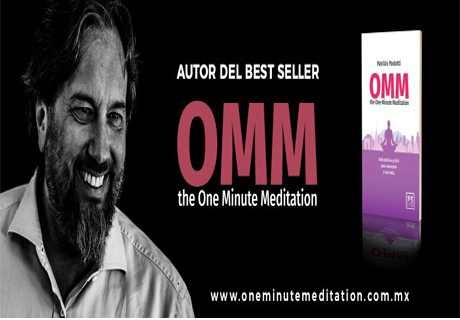 Conferencia OMM One Minute Meditation México