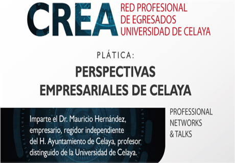 Conferencia Perspectivas Empresariales de Celaya. Network & Cocktail