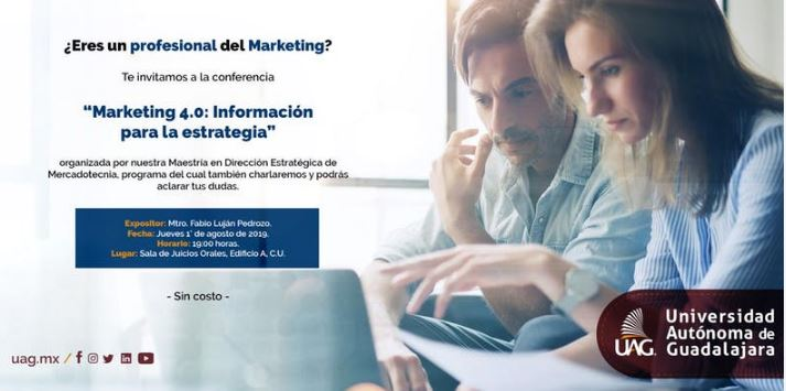 "Conferencia ""Marketing 4.0: Informaci?n para la estrategia"""