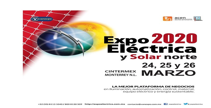 Expo electrica y solar norte 2020