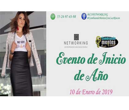 "EVENTO DE INICIO DE AÑO 2019 (NETWORKING Y CONFERENCIAS) ""SIN COSTO"""